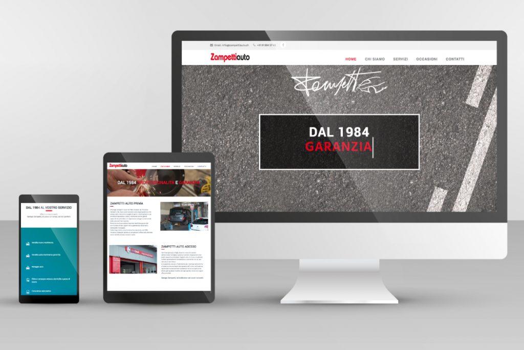 Sito web - Zampetti Auto